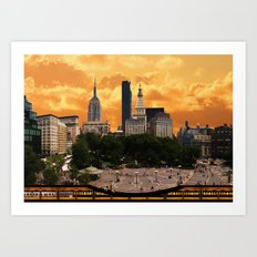 The Union Square - New York Art Print