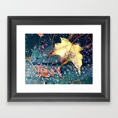 Fall in the Spider's Web Framed Art Print