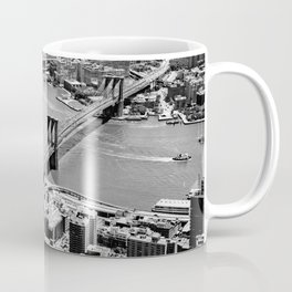 Brooklyn Bridge View - New York City Coffee Mug