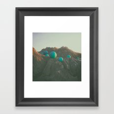 WHO PUT THEM THERE? Framed Art Print