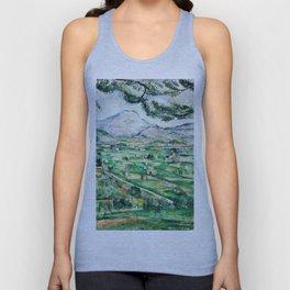 1887 - Paul Cezanne - Mont Sainte-Victoire Unisex Tank Top