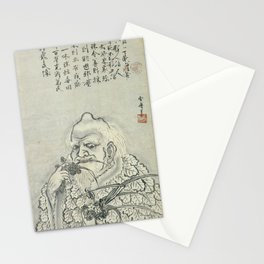 Sesshu Toyo - Shennong (late 15th Century) Stationery Cards