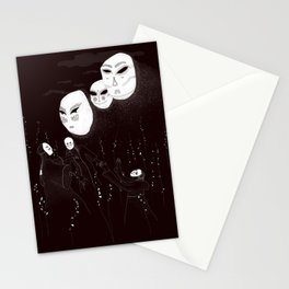 A summon in the night Stationery Cards