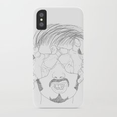 I'm grabbing your eyes baby ! iPhone X Slim Case