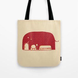 Elephanticus Roomious Tote Bag
