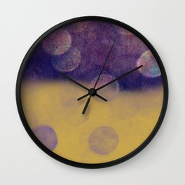 Falling Planets Wall Clock
