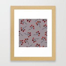Brier Framed Art Print