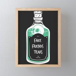 Fake friends  Framed Mini Art Print