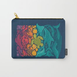 Aquatic Spectrum Carry-All Pouch