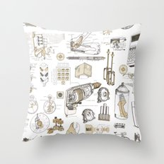 How it Works Throw Pillow