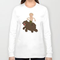 putin Long Sleeve T-shirts featuring Putin Rider by René Martin