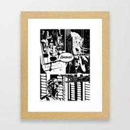 Where is Jonesy? Framed Art Print