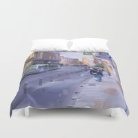 urban Duvet Covers featuring Urban by pabpaint
