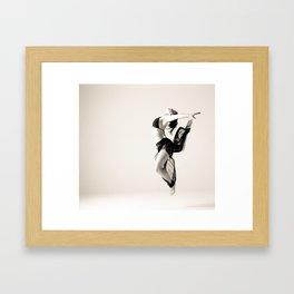 Stag Framed Art Print