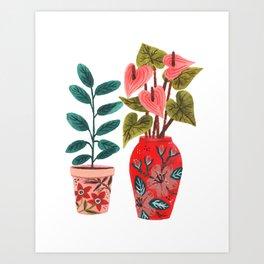Vases Art Print