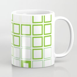 Gingham with a twist Coffee Mug