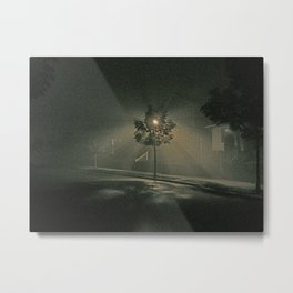 Foggy Night #2 Metal Print