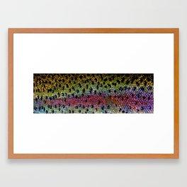 Beautiful Skin, Rainbow Bronze Framed Art Print