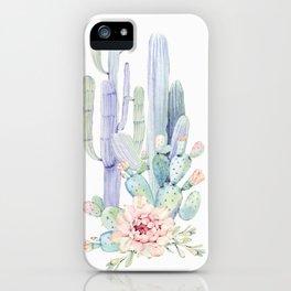 Mixed Cacti 2 #society6 #buyart iPhone Case