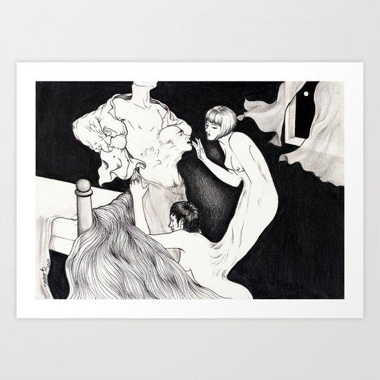 HYDE LOVE Art Print