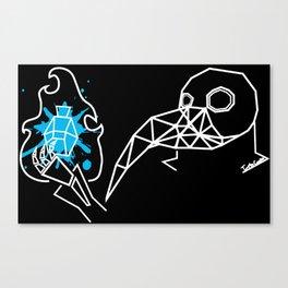 Plague Doctor pt.2 Canvas Print