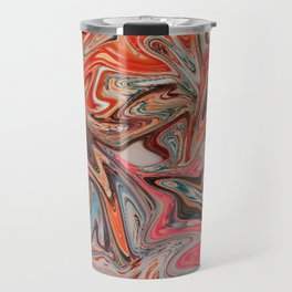 Fireworks in Summer Travel Mug