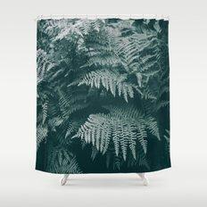 Ferns IV Shower Curtain