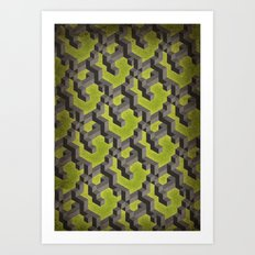 Long-chain Demi-gods of Imperfection Art Print