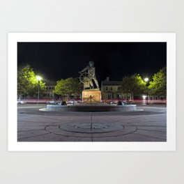 Fisherman's Memorial Art Print