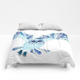 Aztec Owl Comforters