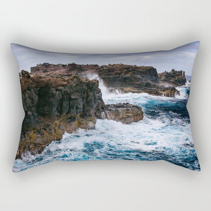 Ocean Power Rectangular Pillow