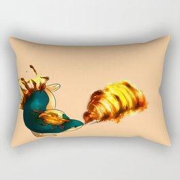 Flamethrower Rectangular Pillow