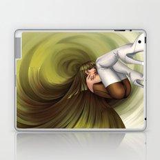 Time Antigrav - green Laptop & iPad Skin