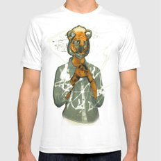 year of the tiger  Mens Fitted Tee White MEDIUM