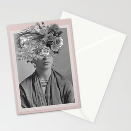 Magdalena y sus Flores Stationery Cards