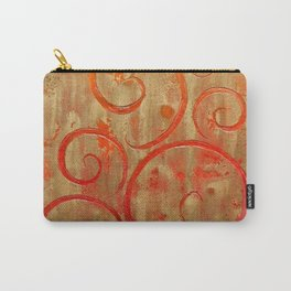 Pompeii Red (encaustic painting) Carry-All Pouch