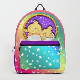 baby bear sleep Backpack