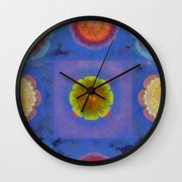 Belton Concord Flower  ID:16165-091237-53390 Wall Clock