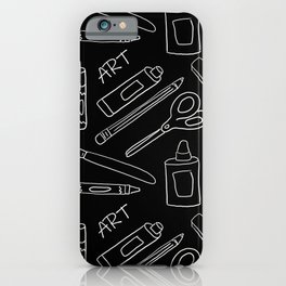 So Many Art Supplies iPhone Case
