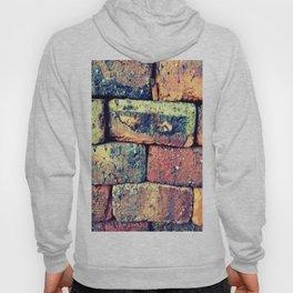Retro brick block stone Hoody