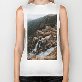Autumn falls - Landscape and Nature Photography Biker Tank