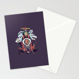 The Wolf Princess (Purple) Stationery Cards