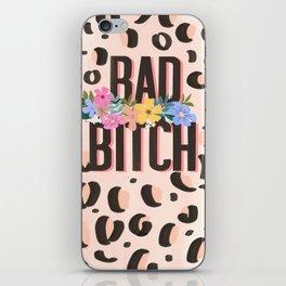 Bad Bitch iPhone Skin