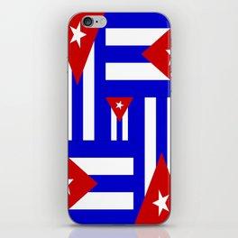Cuban Flag- Multi iPhone Skin