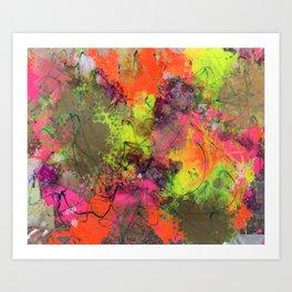Neon Plexi Art Print