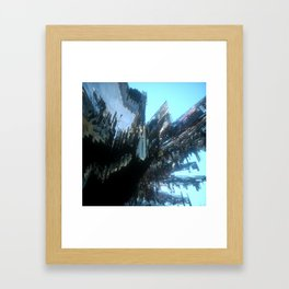 Nothing Grows but Factories no. 1 Framed Art Print