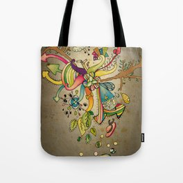Another Strange World Tote Bag