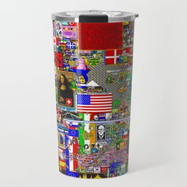 /r/place Reddit Event Travel Mug