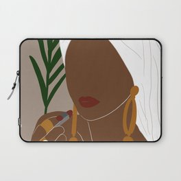 Black Woman Art  Laptop Sleeve