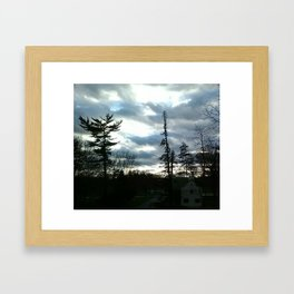 View from Dorm Framed Art Print